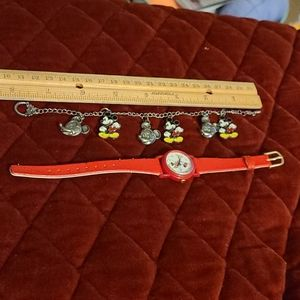 Disney Vintage Jewelry Bracelet & Watch